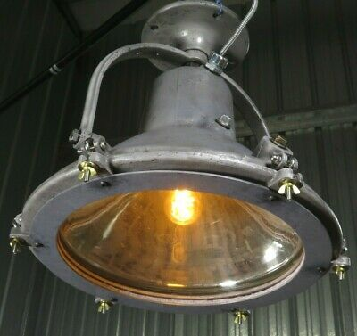Vtg 1920s 20 Cast Metal Light