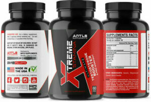 ANTLS Supplements Xtreme Stamina Men's Testosterone Booster - 60 Capsules