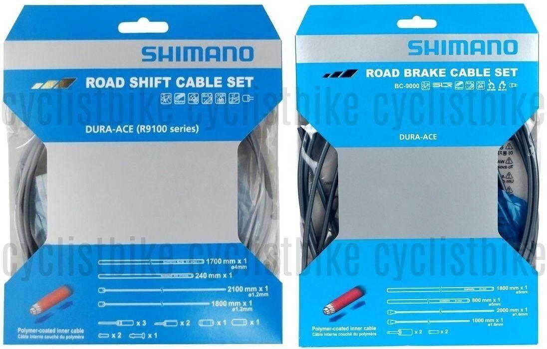 Shimano Dura Ace R9100 & BC-9000 G   Poly-Coated Shift & Brake Cable Set NIB  shop now