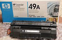GENUINE NEW  HP Q5949A 49A laserjet TONER CARTRIDGE 1160 1320 3390 3392