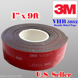 M Double Sided Foam Tape For Glass