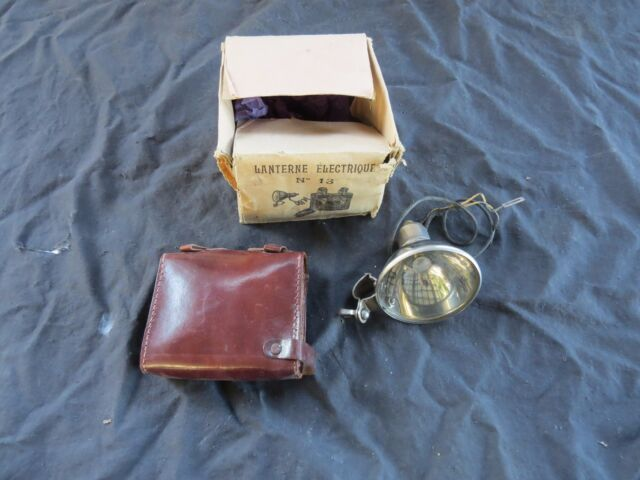 HEAD LIGHT LANTERNE no #13 ELECTRIQUE FRENCH road touring bicycle  EARLY VINTAGE