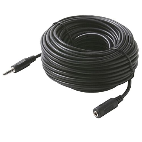 10 pk 50 ft 3.5mm 1//8 stereo audio male to female cable