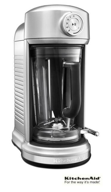 KitchenAid KSB5010SR Torrent Magnetic Drive Blender 1300W - Sugar Pearl