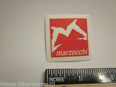 "4/"" MARZOCCHI BOMBER FREE RIDE Mountain Bike MX Race Suspension DECAL STICKER"