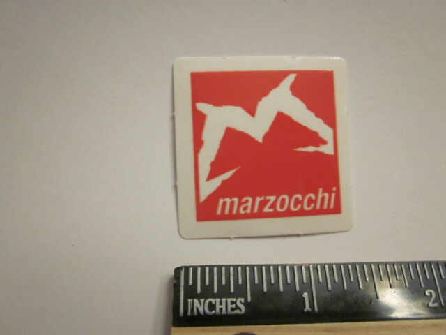 "4.5/"" MARZOCCHI BOMBER FREE RIDE Mountain Bike MX Race Suspension DECAL STICKER"
