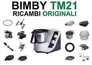 Ricambi-Accessori-ORIGINALI-BIMBY-BIMBI-TM21-TM-21-Farfalla-Coltelli-Motore