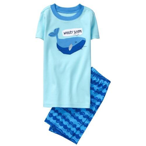 NWT Gymboree Boys gymmies Pajama set Whale Shortie many sizes
