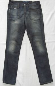 G-Star Women's Jeans W27 L32 Low T Loose Tapered WMN 27-32 Condition Very
