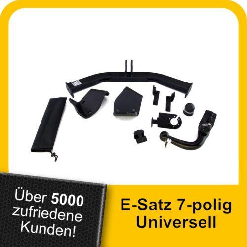 Anhängerkupplung abn.+ES 7p uni AHK Für Fiat Freemont 11-16 Kpl