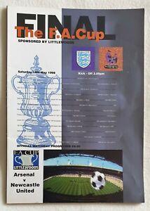 Arsenal vs Newcastle United - FA Cup Final - 16/5/1998 ...