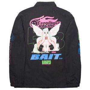 BAIT x Rick And Morty Men Pickle Rick Coaches Jacket black