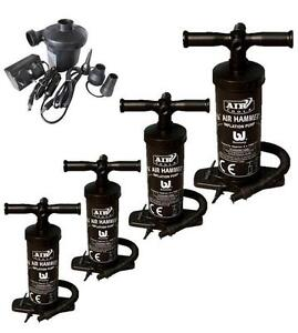 Hand Pump Air Hammer Inflatable Blow Up Airbed Pool Dinghy 12/'/'