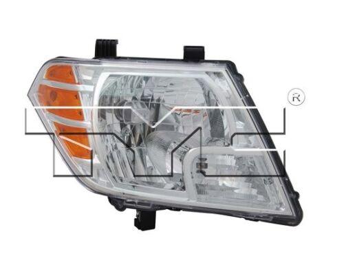 TYC Right Side Halogen Headlight Assy For Nissan Frontier 2009-2016 Models