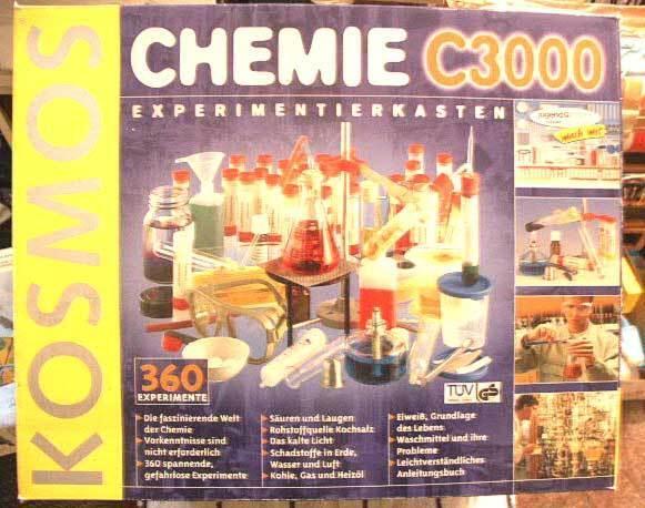 Kosmos Chemie C 3000, TOP , kompl.
