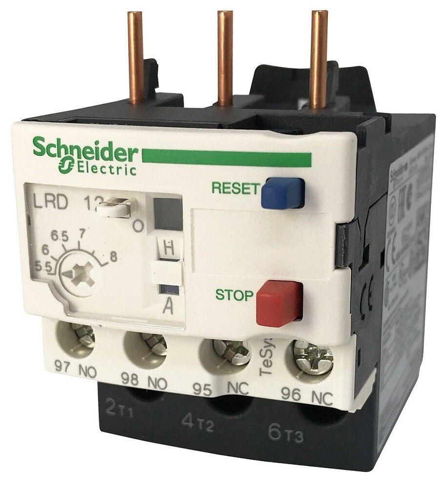 Relais de Protection Thermique 4-6A - LRD10 - SCHNEIDER - Pompe - 955123