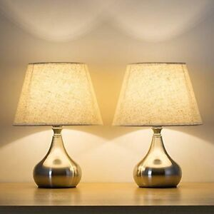 Haitral Bed Side Table Lamps Set Of 2