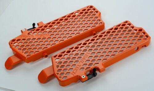 Trail Tech Radiator Guards Orange For KTM 125-500 0150-RB03