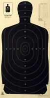 Official Nra B-27a, B-27 W/score Rings To The 3 Ring [23 X 45] (5 Targets)