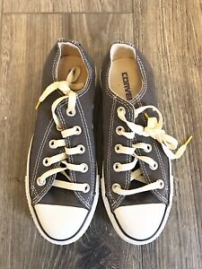 ego jurado Evaluable  NEW Gray Converse Chuck Taylor All Star Tennis Shoes Size 6 Womens (4 in  Men) | eBay