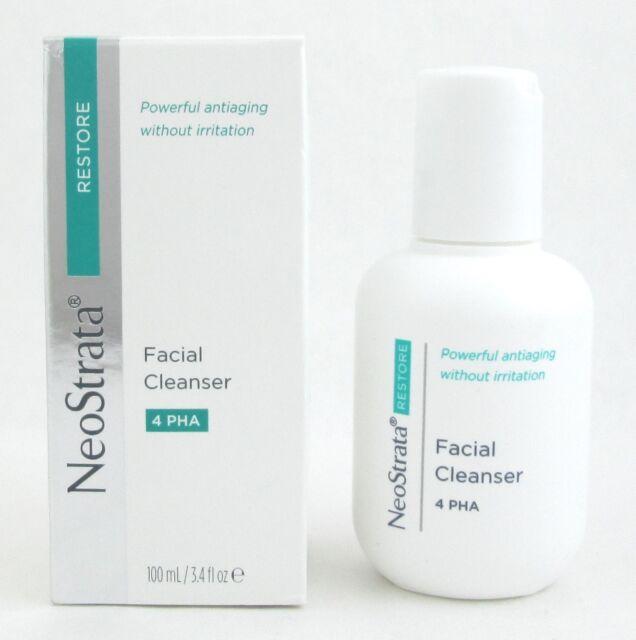 NeoStrata Facial Cleanser 4 PHA 100 ml/ 3.4 oz New *Damaged Box