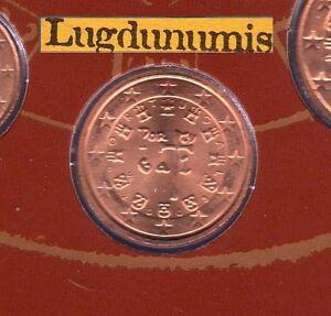Portugal 2003 - 2 Centimes D'Euro FDC provenant du coffret BU 50000 exemplaires