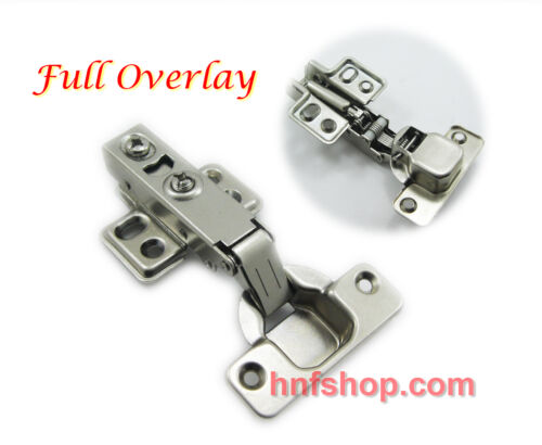 """Dia 1.5/""""//35mm Hydraulic soft close Full Overlay Hinge for storage cabinet door"""