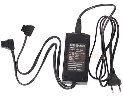 Lanparte 2 Channel V-mount/Anton Battey D-Tap DC Charger Adapter Power Supply