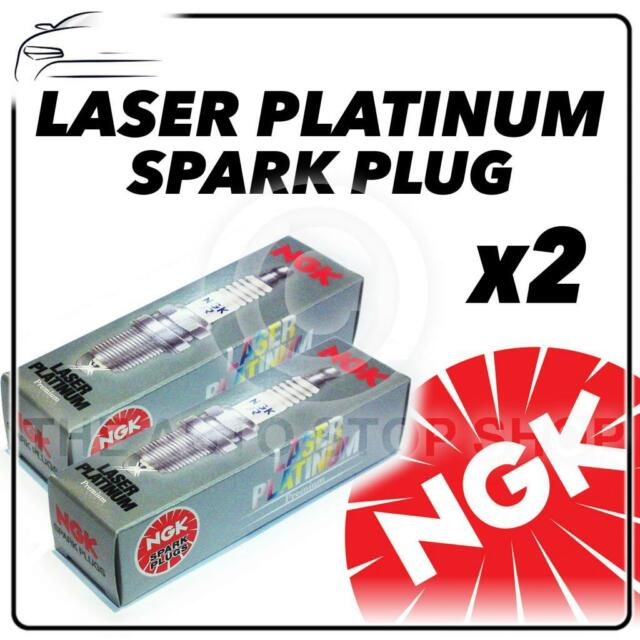 2x NGK SPARK PLUGS Part Number PFR6E-10 Stock No. 3688 New Platinum SPARKPLUGS