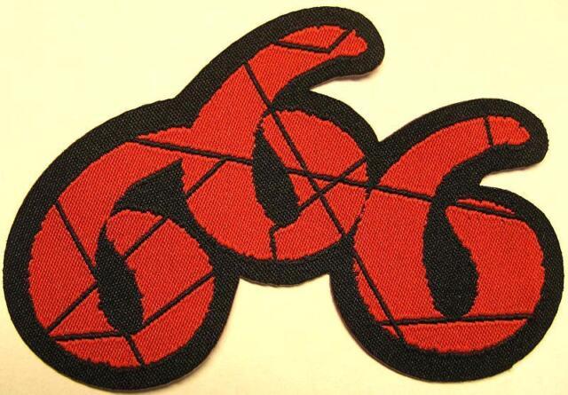 666    PATCH / AUFNÄHER # 1 - 10x6cm