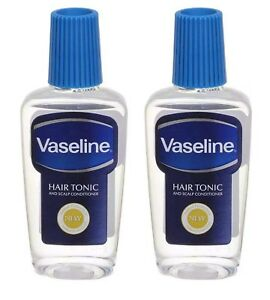 2 x 200 ml Vaseline Hair Tonic oil  And Scalp Conditioner  added protection
