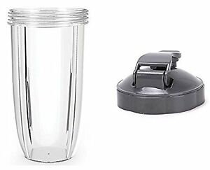 Remplacement 32 Oz Tall Cup + Flip Couvercle Pièces De Rechange Pour Mixeur 600/900w-afficher Le Titre D'origine Zscwagsi-10121855-311194984