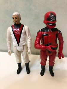 Lot-2-VINTAGE-1980-S-ACTION-FORCE-RED-SHADOWS-BARON-IRONBLOOD-FIGURE-Damaged