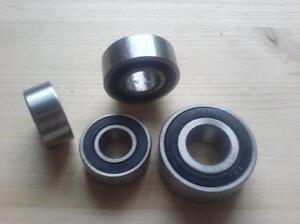 4 Schrägkugellager zweireihig  3205 2RS / 2RS1 / 2RSR / LLU  25x52x20,6 mm