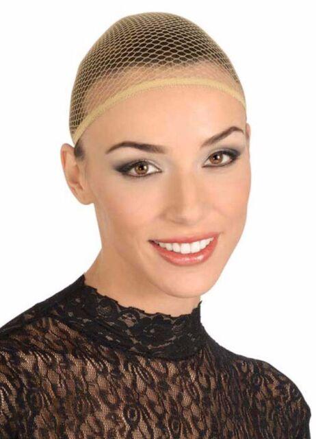 Wig Cap Nylon Mesh Stretch Unisex Cosplay Costume Accessory