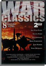 War Classics: 8 Films on 2 New DVD's! Go For Broke, Waterfront, Commandos, etc