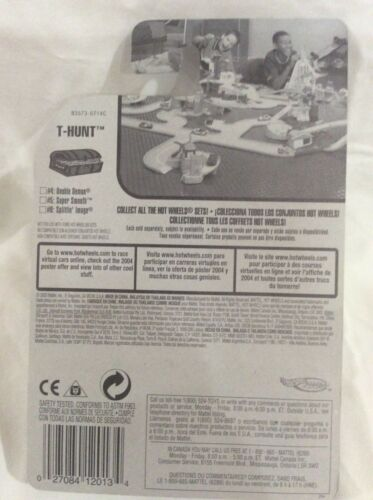 Hot Wheels Treasure Hunts 2004 Regular in Protection Pack Choice NIP