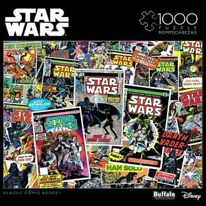 BUFFALO-GAMES-PUZZLE-STAR-WARS-COLLAGE-CLASSIC-COMIC-BOOKS-1000-PCS-11805