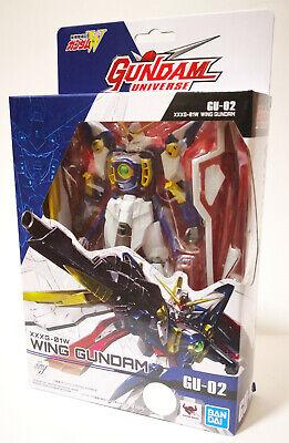 Brand NEW Bandai Gundam Universe GU-02 XXXG-01W W Wing Gundam 15cm action figure