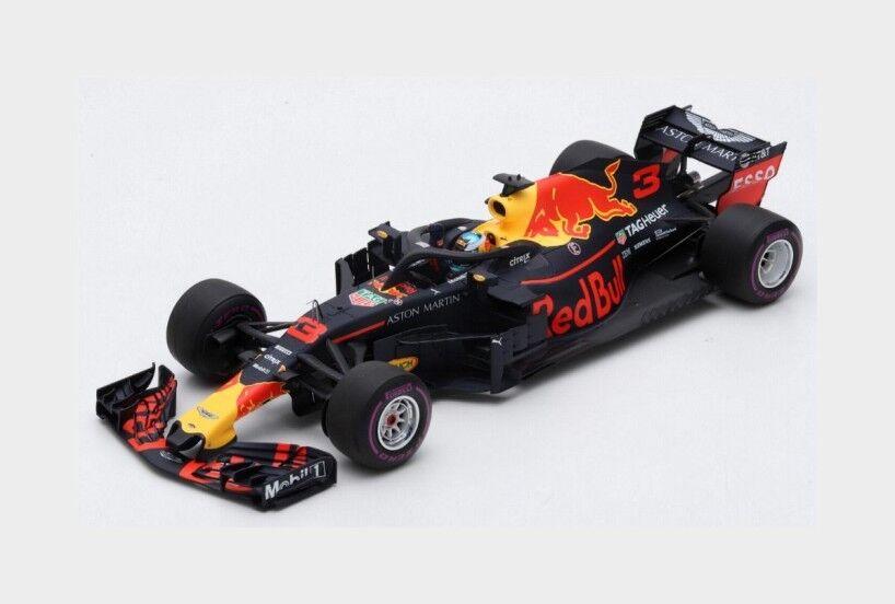 rouge Bull F1 Rb14 Tag Heuer  3 Winner Monaco Gp 2018 Ricciardo SPARK 1 18 18S351