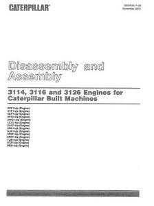 caterpillar 3126 engine manual