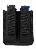 Barsony Double Magazine Pouch For Feg Makarov 380 & Ultra Compact 9mm Pistol