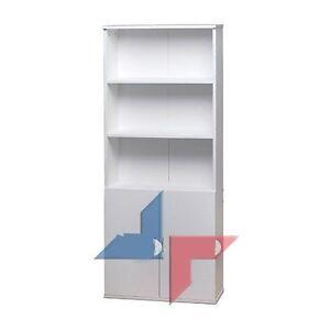 Armoire biblioth que salon cuisine rangement chambre etagere bureau tiroirs 13 ebay - Etageres pour salon bibliotheques bureau ...