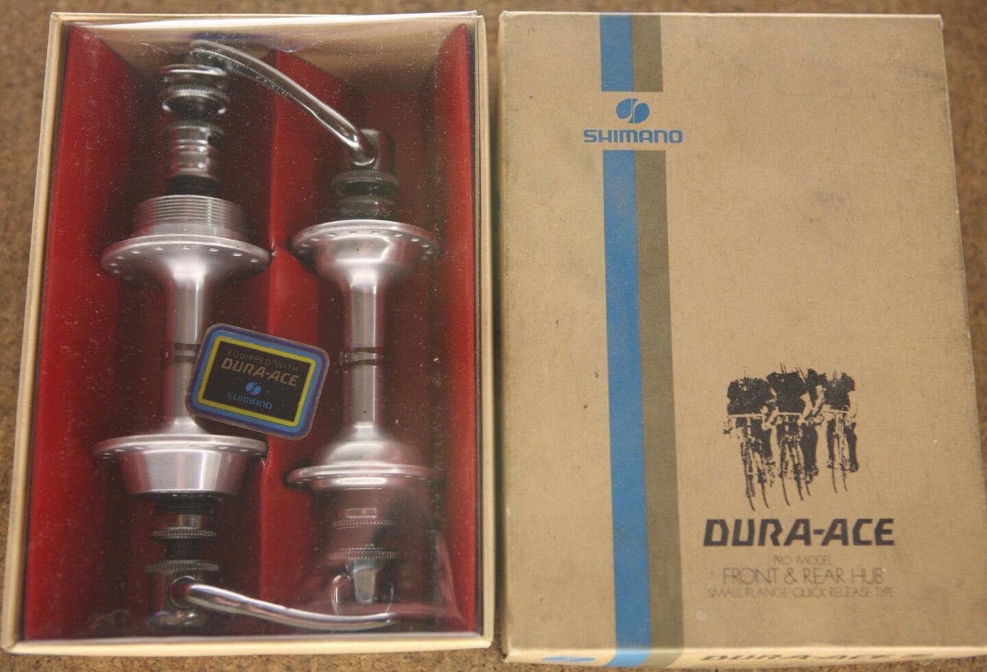 De colección Reedición Nuevo En Caja Shimano Dura Ace EX 7200 concentradores conjunto de bujes 36h 126mm