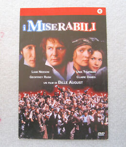 I Miserabili Les Miserables 1998 Opuscolo No Dvd Ebay