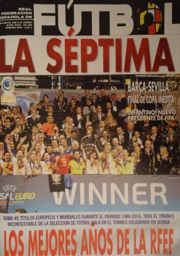 198 Februar 2016 Revista Real Federacion Espanole De Futbol La Septima No