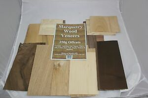 Wood Veneers Offcut Pack for Marquetry