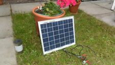 NUOVO 10w 12v Energy + caricabatterie solare-policristallino - 1.3kg - TUV ISO UK