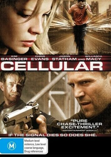 1 of 1 - Cellular - DVD VERY GOOD CONDITION FREE POSTAGE AUSTRALIA WIDE REGION 4