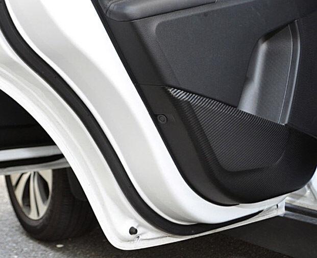 DR Premium Carbon Door Cover Scratch Protect 4p 1Set For 11 12 13 Kia Sportage